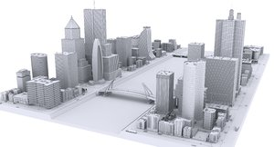 city clay 3D