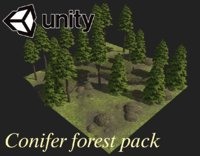 Conifer forest pack