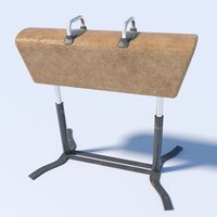 3D model pommel horse
