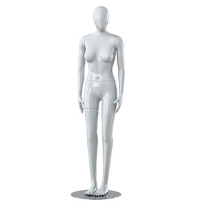 3D model faceless woman mannequin