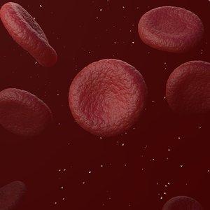 3D red blood cells model