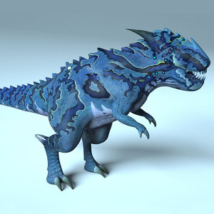 avatar creature dinosaur rex 3D model