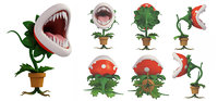piranha flower 3D model