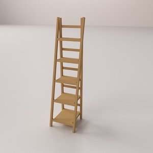ladder shelf 3D model