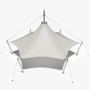 3D membrane tensile structure tent