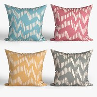 3D decorative pillows set 067
