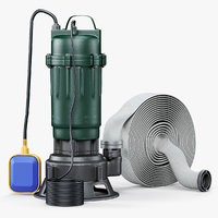 3D submersible water pump