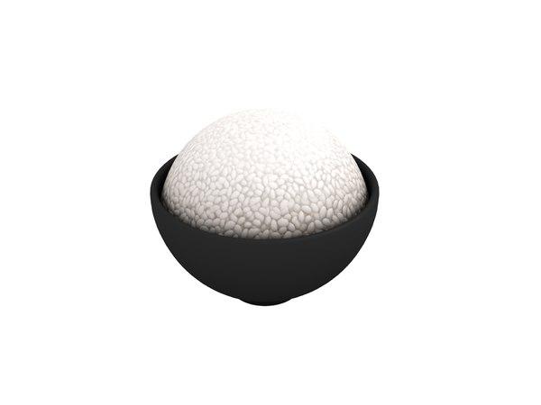 3D rice cartoon