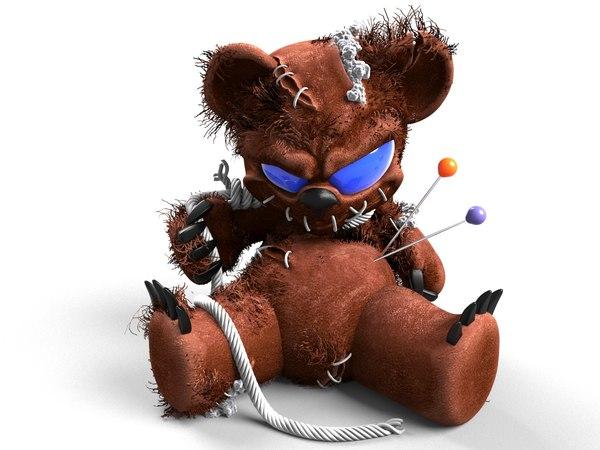 voodoo bear 3D model