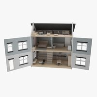 toy house 3D