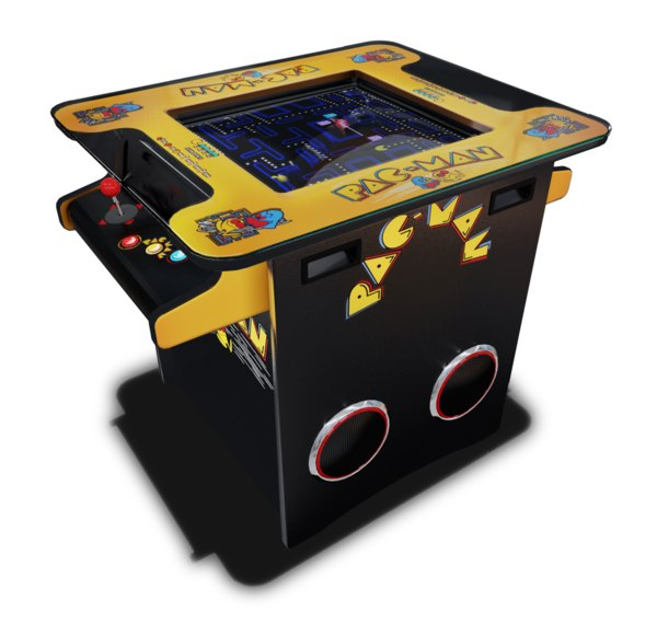 cocktail table arcade machine 3D model