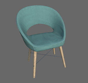 chair home 3D model