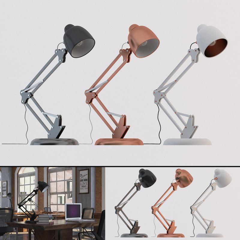 contemporary desk lamp model