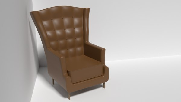 leather sofa chair model