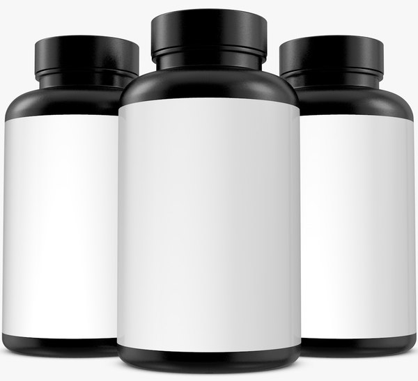 bottle supplement 3D model