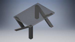 3D modern ofis model