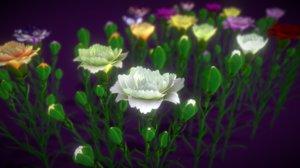 flower slovenia 3D model