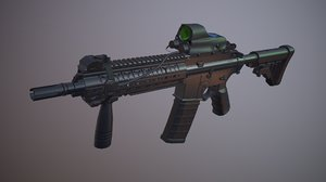 3D mpt weapon model
