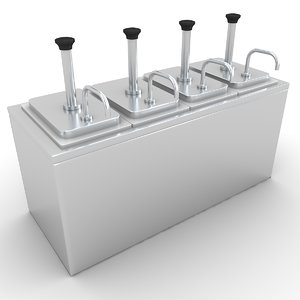 condiment dispenser 3D model
