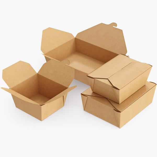 food pack packaging model