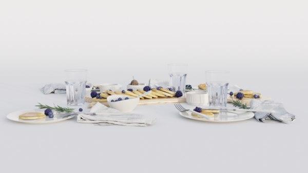 table dinner 3D