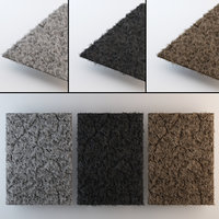 shaggy carpet model