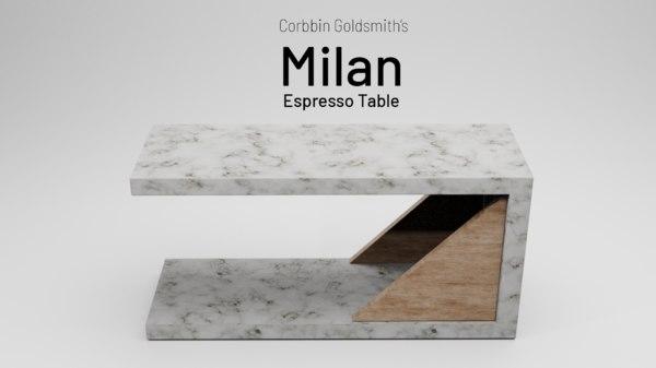 3D design interior marble