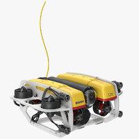 3D underwater robot