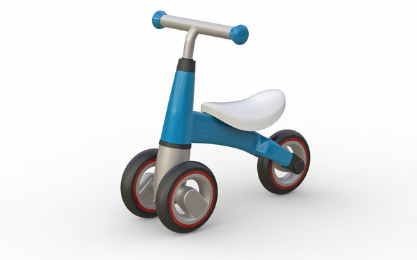 3D children tricycle model