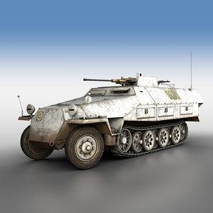 sd kfz 251 17 model