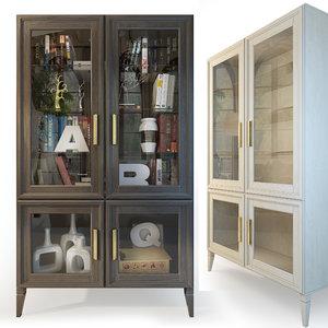 3D model cabinet charlie
