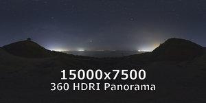 HDRI Night sky