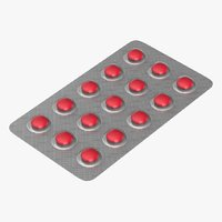 3D medication medicine model