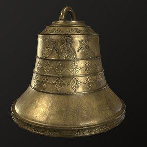 3D church bell