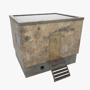 boiler house 3D model