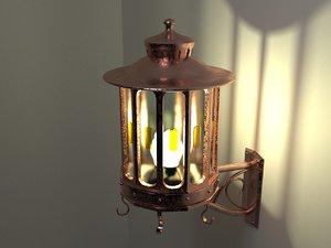lantern design 3D model