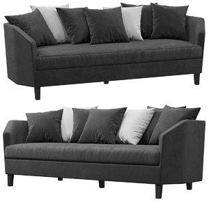 eichholtz landon sofa 3D