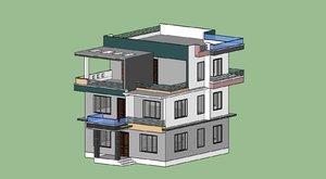 3D residential buildings