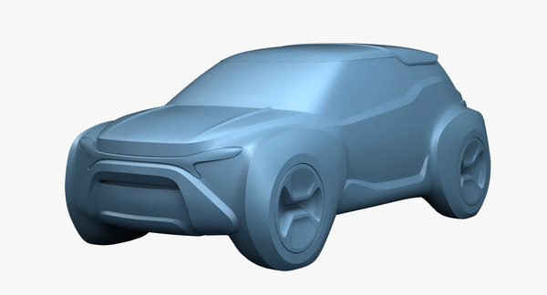 suv concept car model