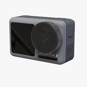camera osmo action mo 3D model