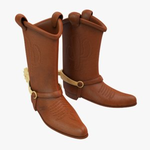 3D sheriff woody boots
