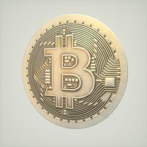3D 4k bitcoin model