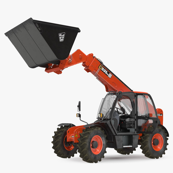 3D 535 telehandler scoop bucket