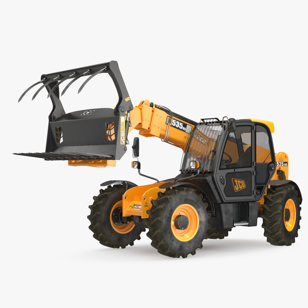 3D telescopic telehandler forklift 535 model