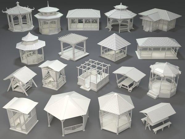 arbors 18 pieces model