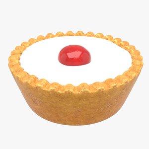 3D bakewell tart