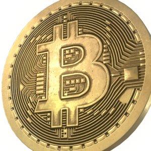 4k bitcoin 3D model