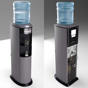 cooler water vatten v803nkdg 3D