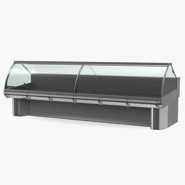 commercial meat display counter model