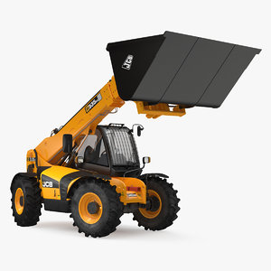 telehandler 535 scoop bucket 3D model